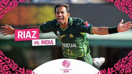 CWC11: Riaz rocks India with five-for
