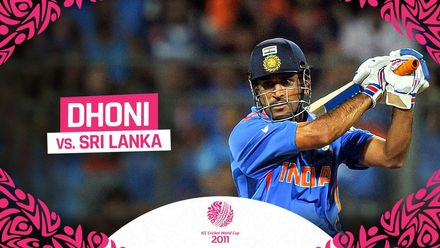 Dhoni secures World Cup glory with captain's knock | #CWC11Rewind