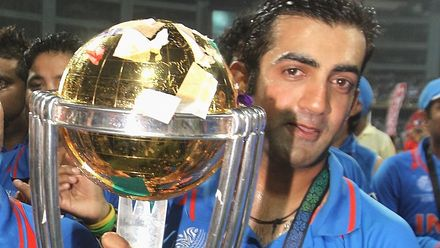 CWC11: 'My dream was to win the World Cup' – Gautam Gambhir