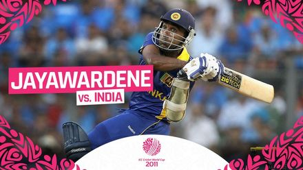 Jayawardene shines with unbeaten ton in World Cup final | #CWC11Rewind