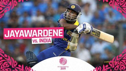 Jayawardene shines with unbeaten ton in World Cup final | #CWC11Rewind