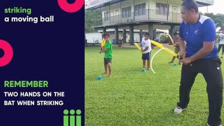 Drill - Striking a Moving Ball