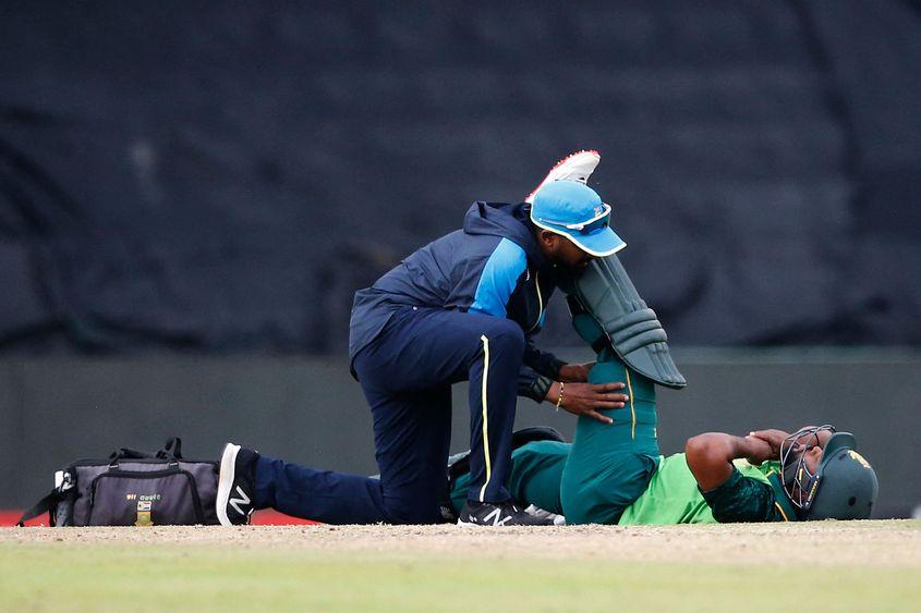Temba Bavuma suffered a hamstring injury in the final ODI.