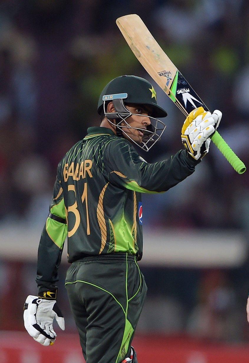 Babar Azam scored a half-century on ODI debut.
