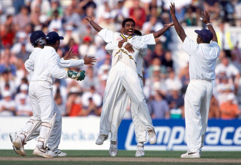 A special match from Muttiah Muralitharan.
