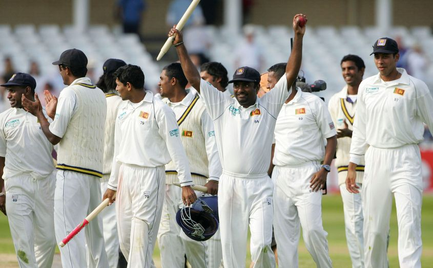 Another Muralitharan inspired victory in England.