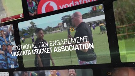 ICC Digital Fan Engagement Initiative Award 2020: Vanuatu Cricket