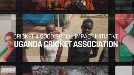 Cricket 4 Good Social Impact Initiative 2020: Uganda