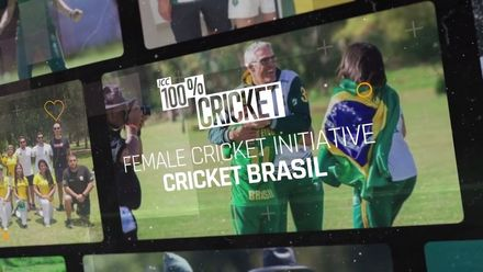 ICC 100% Cricket Women's Cricket Initiative 2020: Cricket Brasil