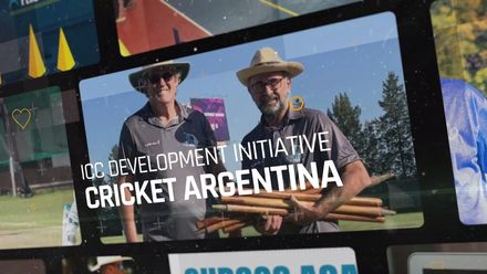 ICC Development Initiative of the Year 2020: Cricket Argentina