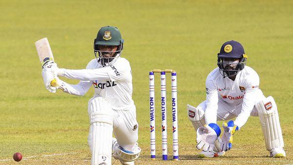 Shanto notches up maiden ton as dominant Bangladesh take command in Kandy