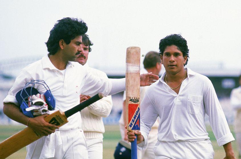 A moment to remember for Sachin Tendulkar.