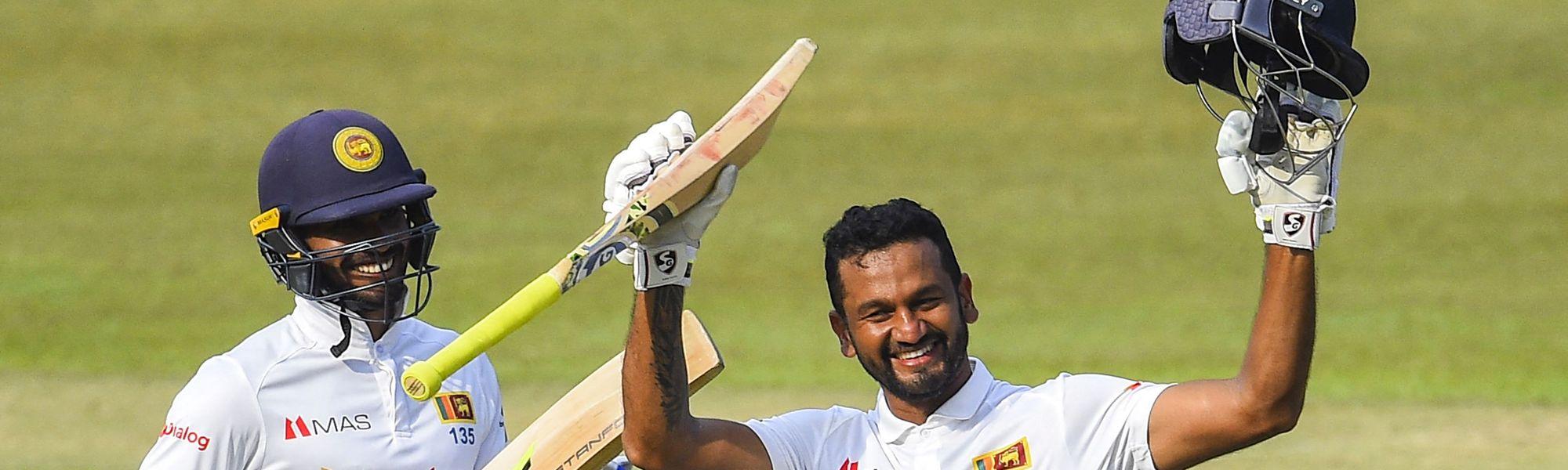 Sri Lanka v Ban, day 4, Karunaratne 200