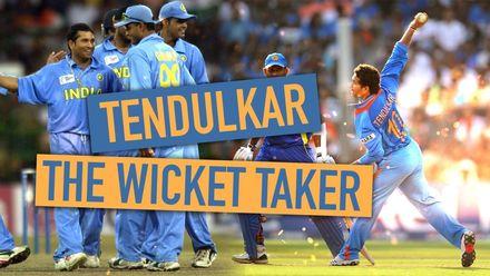 Sachin Tendulkar – The wicket-taker