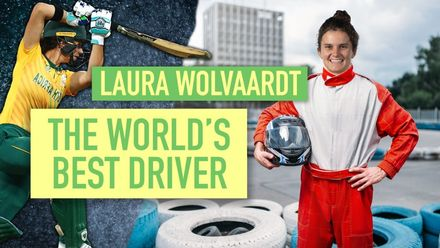 Laura Wolvaardt – The world's best driver