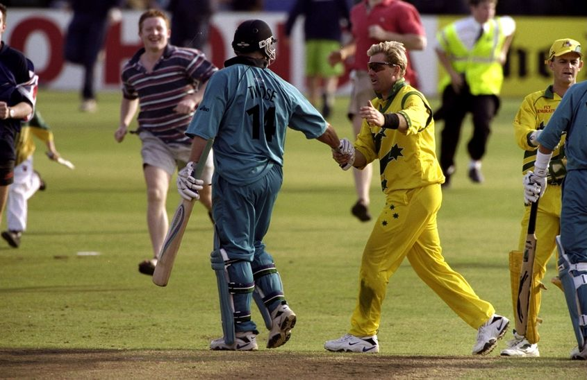 Australia's World Cup campaign was hanging by a thread three  games in.