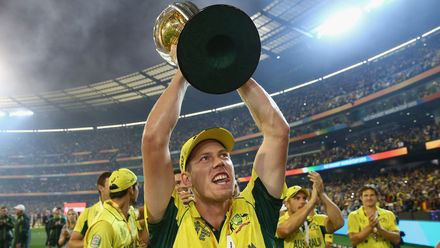 Faulkner stars in Cricket World Cup 2015 final
