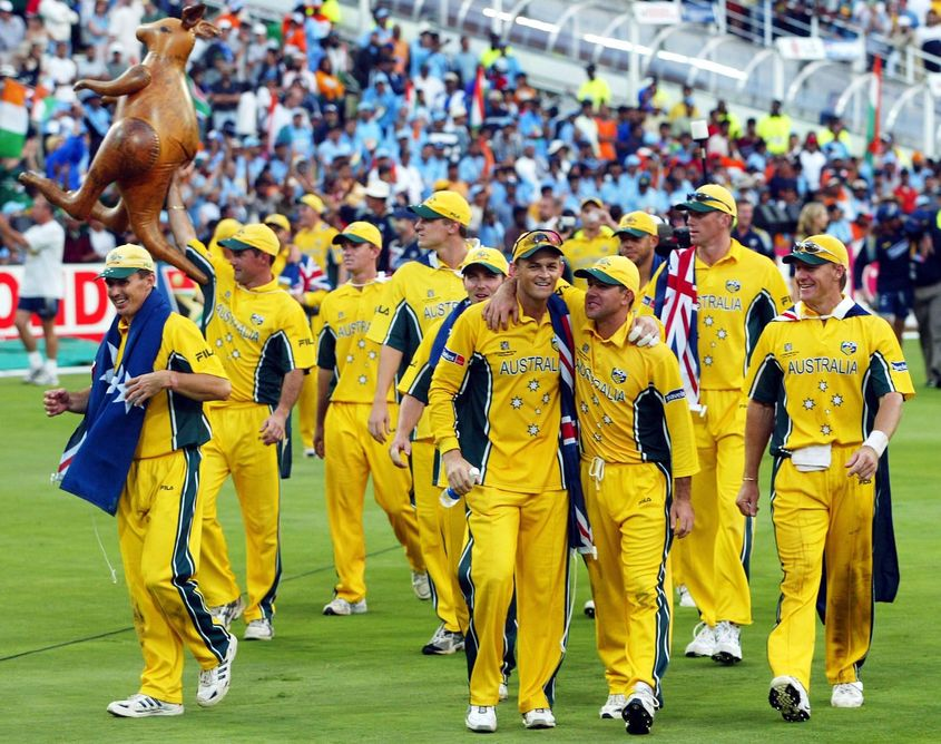 Australia produced the perfect game in the 2003 World Cup final.