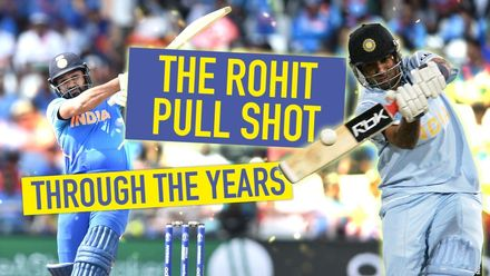Hitman: Rohit Sharma is the master of the pull shot
