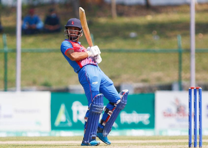 Kushal Bhurtel has excelled for Nepal.