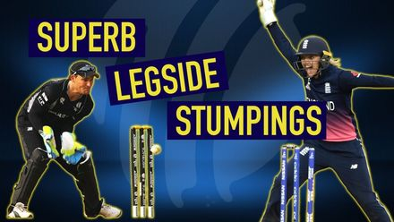 Superb leg-side stumpings: Part I