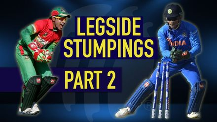 Superb leg-side stumpings: Part 2