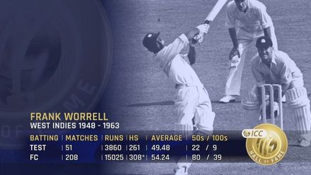 ICC Hall Of Fame: Frank Worrell | 'A unifying influence in the Caribbean'