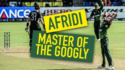 Shahid Afridi: The king of googly
