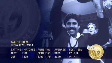 ICC Hall of Fame: Kapil Dev | 'A true game-changer'