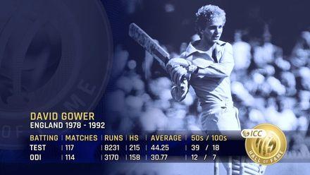 ICC Hall of Fame: David Gower | The charming batsman