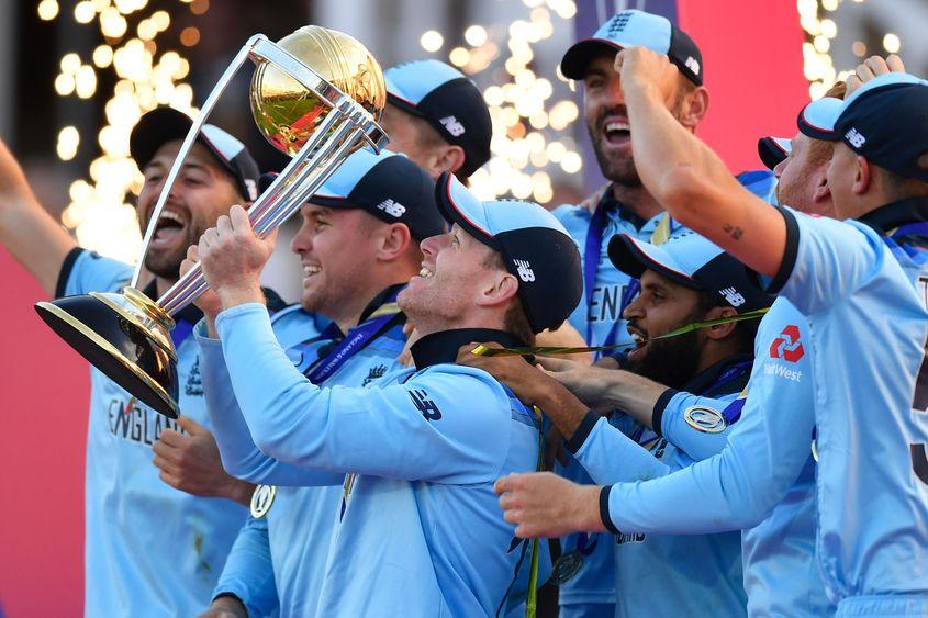 ICC Men's World Cup 2019 – England trophy