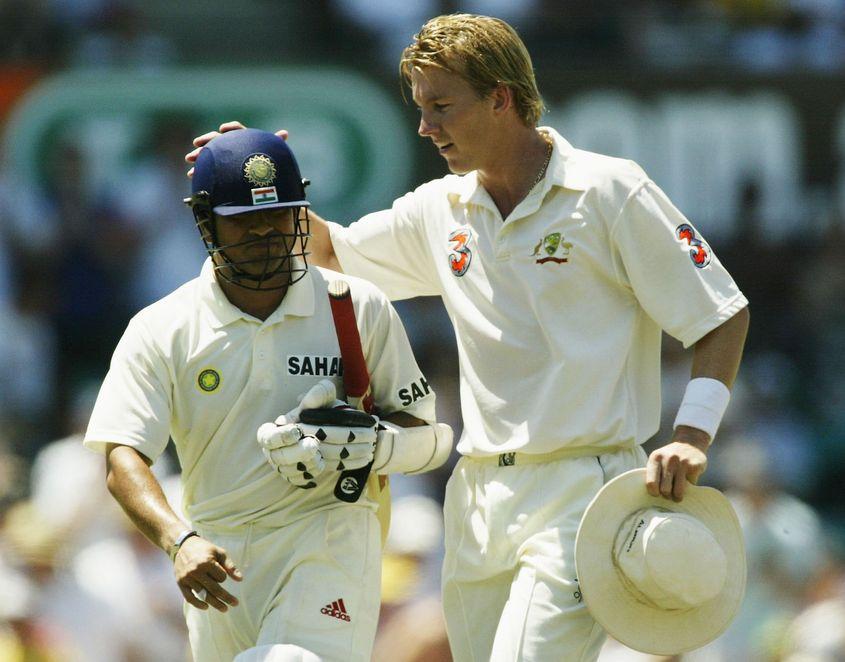 Sachin Tendulkar and Brett Lee enjoyed many enthralling battles.