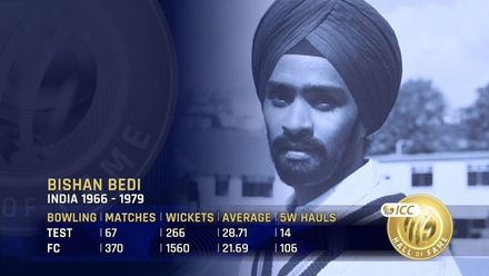 ICC Hall of Fame: Bishan Bedi | 'Languid, poetic spin bowler'