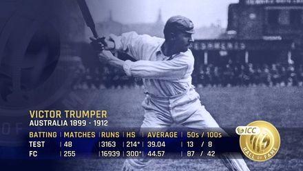 ICC Hall of Fame: Victor Trumper | 'God in Australia'