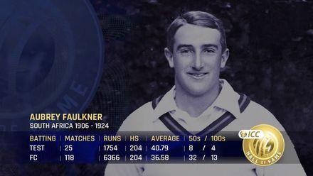 ICC Hall of Fame 2021 | Aubrey Faulkner