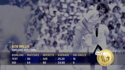 ICC Hall of Fame 2021 | Bob Willis