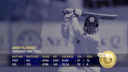 ICC Hall of Fame 2021 | Andy Flower