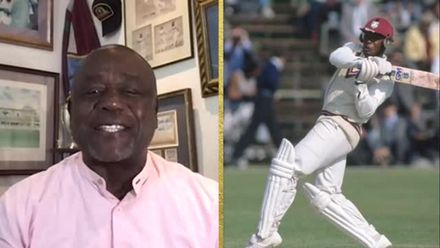 ICC Hall of Fame 2021 | Desmond Haynes on nets with West Indies greats