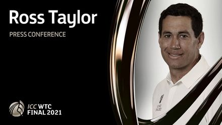 WTC Final pre-match press conference: Ross Taylor