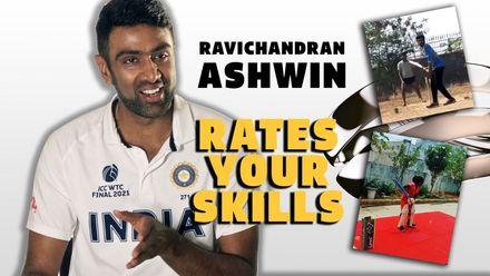 R Ashwin rates your skills