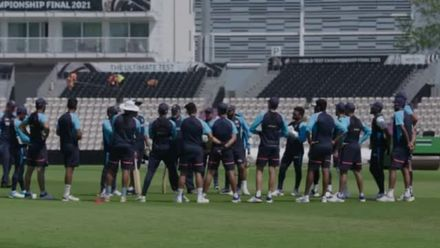 India sharpen up ahead of WTC Final