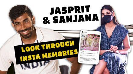 Insta Memories: Bumrah and Sanjana