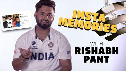 Insta Memories with Rishabh Pant