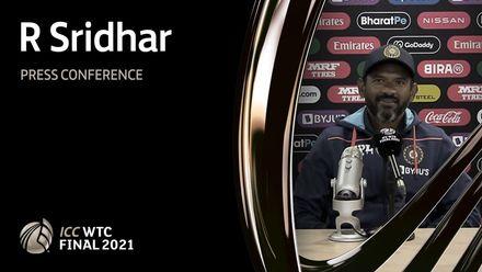 R Sridhar press conference – Day 1 | WTC21 Final | IND v NZ