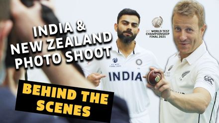 Behind the Scenes: India & New Zealand photo shoot