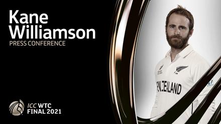 WTC Final pre-match press conference: Kane Williamson