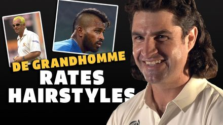 Colin de Grandhomme rates hairstyles | WTC21 | IND v NZ