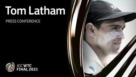 Tom Latham press conference – Day 1 | WTC21 Final | IND v NZ