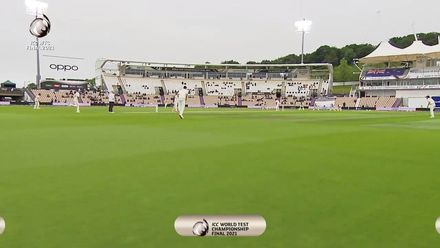 First ball of the day | WTC21 Final | Ind v NZ