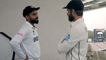 The Kane-Kohli friendship | WTC21 Final | Ind v NZ